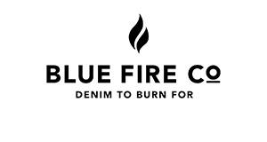 blue fire co. Logo